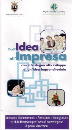Idea Impresa fronte